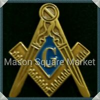 Freemason Blue Lodge Lapel Pin