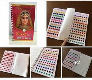 Navya suhag STICKER KUMKUM SPIRAL BOOK bindi multi color 960 pcs approx