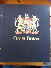 Great Britain Dave Album 1840 - 1991 with over 1250 Stamps