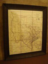 1841 REPUBLIC OF TEXAS MAP FRAMED - JOHN ARROWSMITH