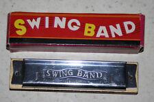 vintage 1974 Swing Band Harmonica in box Japan #91896 Chadwick-Miller