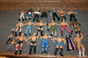"LOT-21 WRESTLING ACTION FIGURE WWE WWF 7"" & 4"""