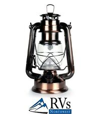 LED Lantern, 15 LED bulbs Outdoor Traditional Look by WeatherRite 5572