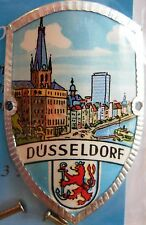 Dusseldorf Düsseldorf new badge mount stocknagel hiking medallion G9816