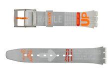 Original Swatch Gent 17mm Kunststoff Armband Urgent AGM134 Neuware