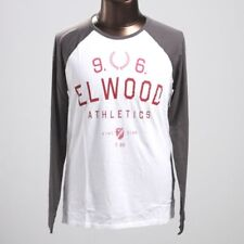 SUPER SALE Elwood GAME DAY L/Sleeve T-Shirt Tee Cotton Tops Size S-XL RRP59.99