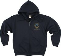 GRATEFUL DEAD-EGYPTIAN CREW-SYF-2 Sided ZIPPERED HOODIE-M-L-XL-2X  Limited, RARE