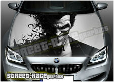 110 Car bonnet hood wrap printed graphics AIR RELEASE vinyl Batman JOKER