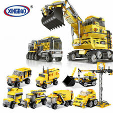 Boys Truck Toy Kids Alloy Construction Engineering 8 in 1 Excavator Baby Toys