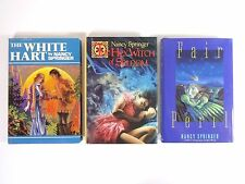 Lot (3) NANCY SPRINGER: The Hex Witch of Seldom; The White Hart; Fair Peril