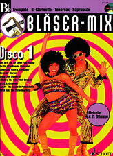 Bläser-Mix - Disco 1 für Trompete, B-Klarinette, Tenorsax, Sopransax. mit CD