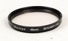 Vivitar 49mm Skylight 1A  FILTER (1864)