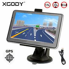 XGODY 4.3'' HD Navegador GPS Táctil de Camión Truck EU Mapas POLIGONO EMPRESA