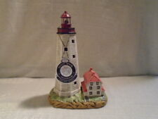 2003 Lefton Historic American Lighthouse Sandy Hook Nj 18049 Rotating Light
