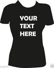 Short Sleeve Personalized Tee Machine Washable T-Shirts for Women