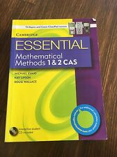 Essential Mathematical Methods CAS 1 and 2 with Student CD-ROM TIN/CP Version...