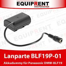 Lanparte DMW-DCC12 Akkudummy DMW-BLF19E DC coupler für Panasonic GH3 / GH4 EQC28