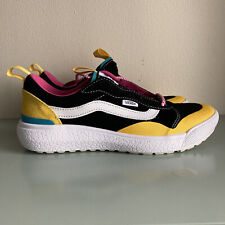 Vans ULTRARANGE EXO SE Comfort Light Shoes Womens Size 7 Black Multi-Color NEW