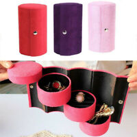 Makeup Box 3 Layers Case Durable Accessories Fashion Storage Earring Necklace