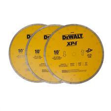 """3 - DeWALT 10 INCH CERAMIC TILE BLADE- DW4764   """"FREE SHIPPING"""""""