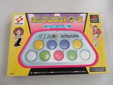 PS PlayStation POP'N MUSIC POP'N CONTROLLER boxed KONAMI  JAPAN