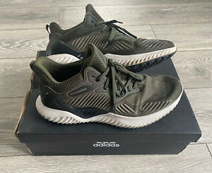 Adidas Alphabounce Men's Trainers - Uk Size 11 - 46 EU Green -