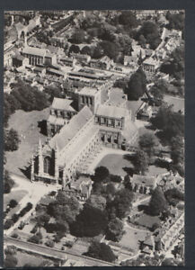 Hampshire Postcard - Aerial View of Winchester and The Cathedral RR6352