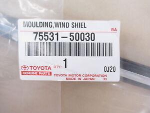 Genuine OEM Lexus 75531-50030 Upper Windshield Moulding 1998-00 LS400