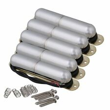 5PCS Electric Guitar Lipstick Tube Pickup with Springs & Mounting Screws