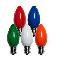 Holiday Bright Lights BU25LEDSC9-OMUA Christmas C9 LED Bulb