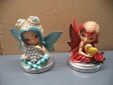 "New ListingBradford Exchange January & February Porcelain Limited Edition Angels 3.25"" Nib"