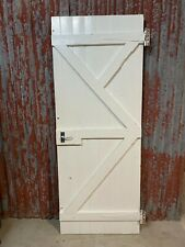 Old BALTIC PINE TIMBER BARN DOOR 762 w X 1970 h recycled house for sliding track