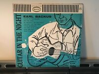 "EARL BACKUS -Guitar in the Night ~EPIC 10"" 1015 {dg orig} ->Father of JIM BACKUS"
