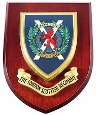 LONDON SCOTTISH REGIMENT CLASSIC HAND MADE REGIMENTAL MESS PLAQUE