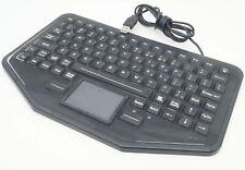 iKEY SB-87-TP-USB-3YR Police DPS Skinny Board Mobile Keyboard W/Keypad Lighted A