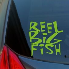Reel Big Fish vinyl sticker decal 3rd wave SKA Orange County alternative punk