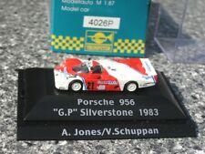 █► Porsche 956 rot/weiß Silverstone 1983 #21 Jones Trumpeter #4026 1:87 OVP