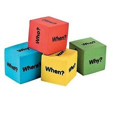 Foam Question Dice:  Educational Learning Resource