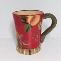 TRACY PORTER Octavia Hill Garden Collection Coffee Tea Cup Mug MINT