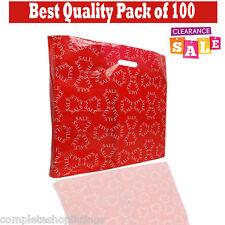 More details for sale' print/ printed plastic carrier shop/ retail bags die cut for retail shop