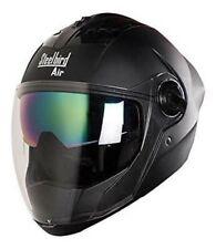 Steelbird Air SBA-2 Full Face Motorcycle Helmet Safe Stylish Matt Black S2u