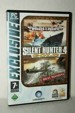 SILENT HUNTER 4 GOLD EDITION WOLVES OF THE PACIFIC USATO PC DVD GER FR1 54524