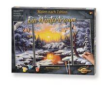 Schipper 609260786 - Malen nach Zahlen - Ein Wintertraum