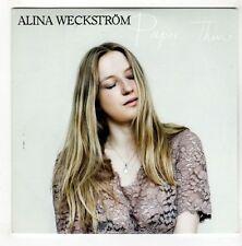 (GL424) Alina Weckstrom, Paper Thin - 2015 DJ CD