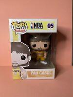 Funko Pop Vinyl Pau Gasol RARE VAULTED *please read description* NBA LAKERS 05