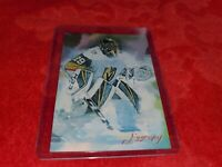 MARC ANDRE FLEURY GOLDEN KNIGHTS SKETCH CARD #6 CARD SIGNED BY ARTIST  #`d 50/50