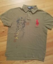 Polo Ralph Lauren Big Pony Polo Shirts - Asian Inspired medium Custom Fit
