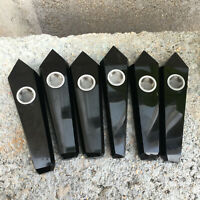 1PCS-Natural Obsidian Crystal Quartz Cigarette Holder Smoking Pipe Healing