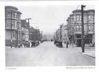 "*Postcard-""Cole Street"" -*San Francisco's ...Haight-Ashbury/ (A21-2)"