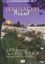 Jerusalem Arise - Live Worship With Paul Wilbur (DVD, New)